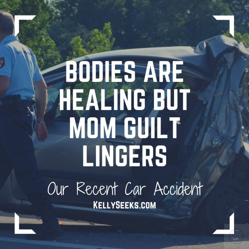 Bodies Are Healing But Mom Guilt Lingers From Car Accident