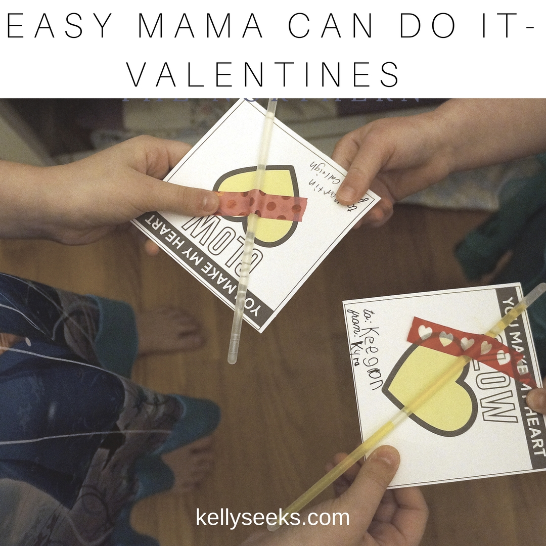 Easy Mama Can Do It DIY Valentines