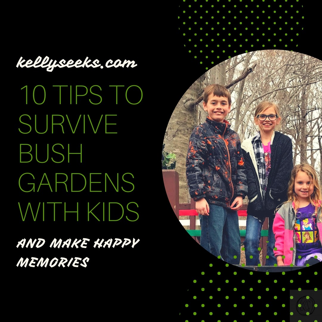 10 Tips To Survive Bush Gardens Williamsburg With Kids