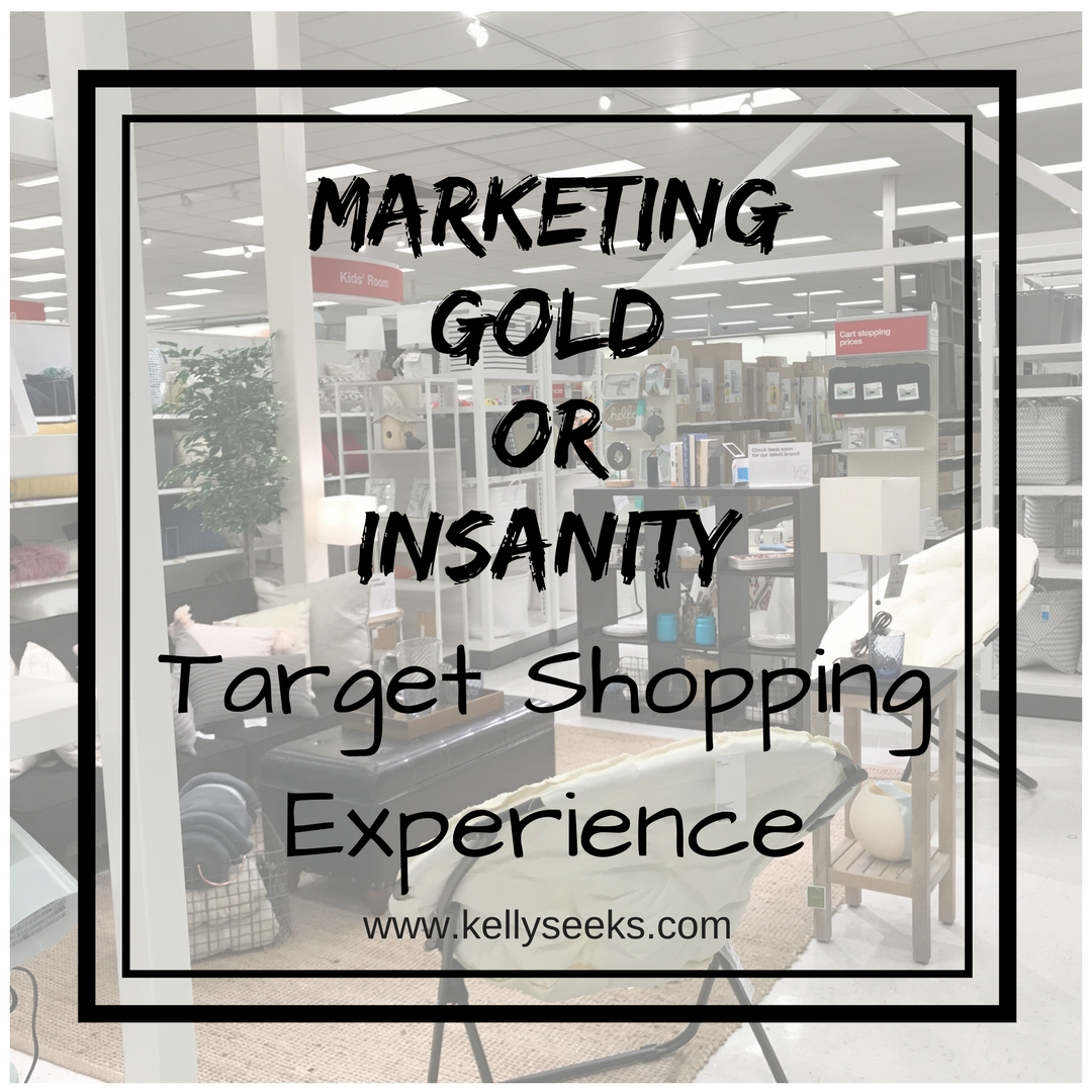 Target Shopping- Marketing Gold Or Insanity?