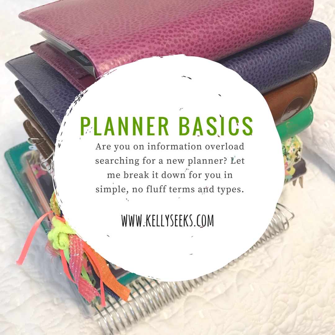 Planners 101: Basic Information And Guide