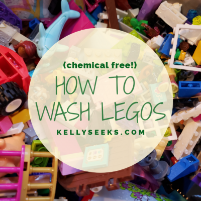 How To Wash Legos
